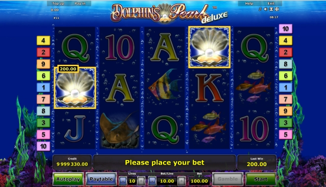 casino games online dolphin pearls