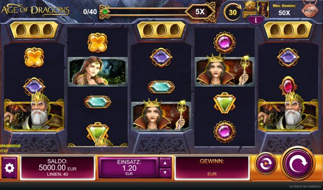 Age of Dragons Slot Vorschau